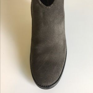 Paul Green Shoes - Paul Green Grey Suede Ankle Boots size 11